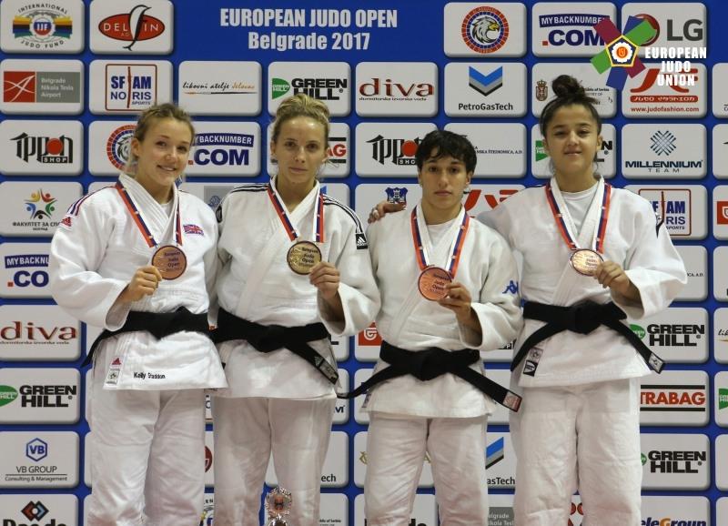 Judoka Alexandra Pop a luat aurul la Open European de Judo de la Belgrad