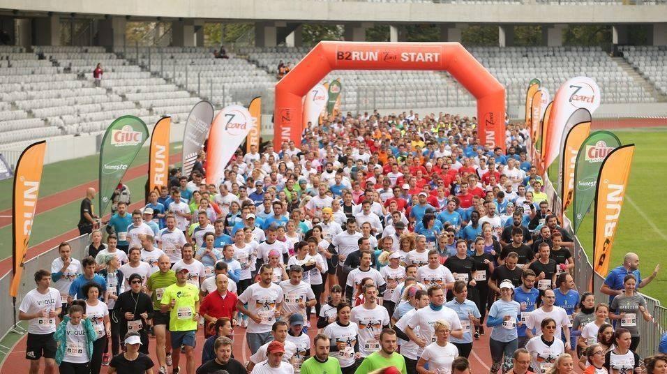 Crosul Companiilor B2RUN, in 24 septembrie, la Cluj Arena