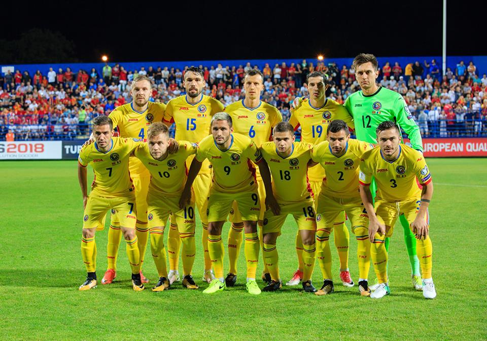 Naționala de fotbal a României a coborât pe locul 25 în clasamentul FIFA