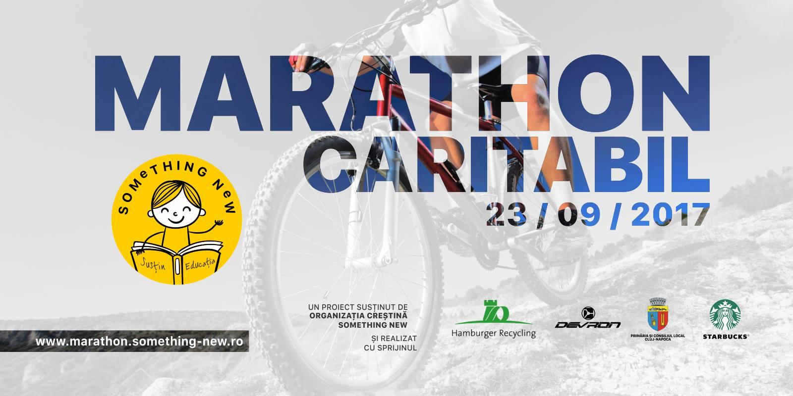 Marathon caritabil organizat de Something New, in 23 septembrie, in Padurea Hoia-Baciu