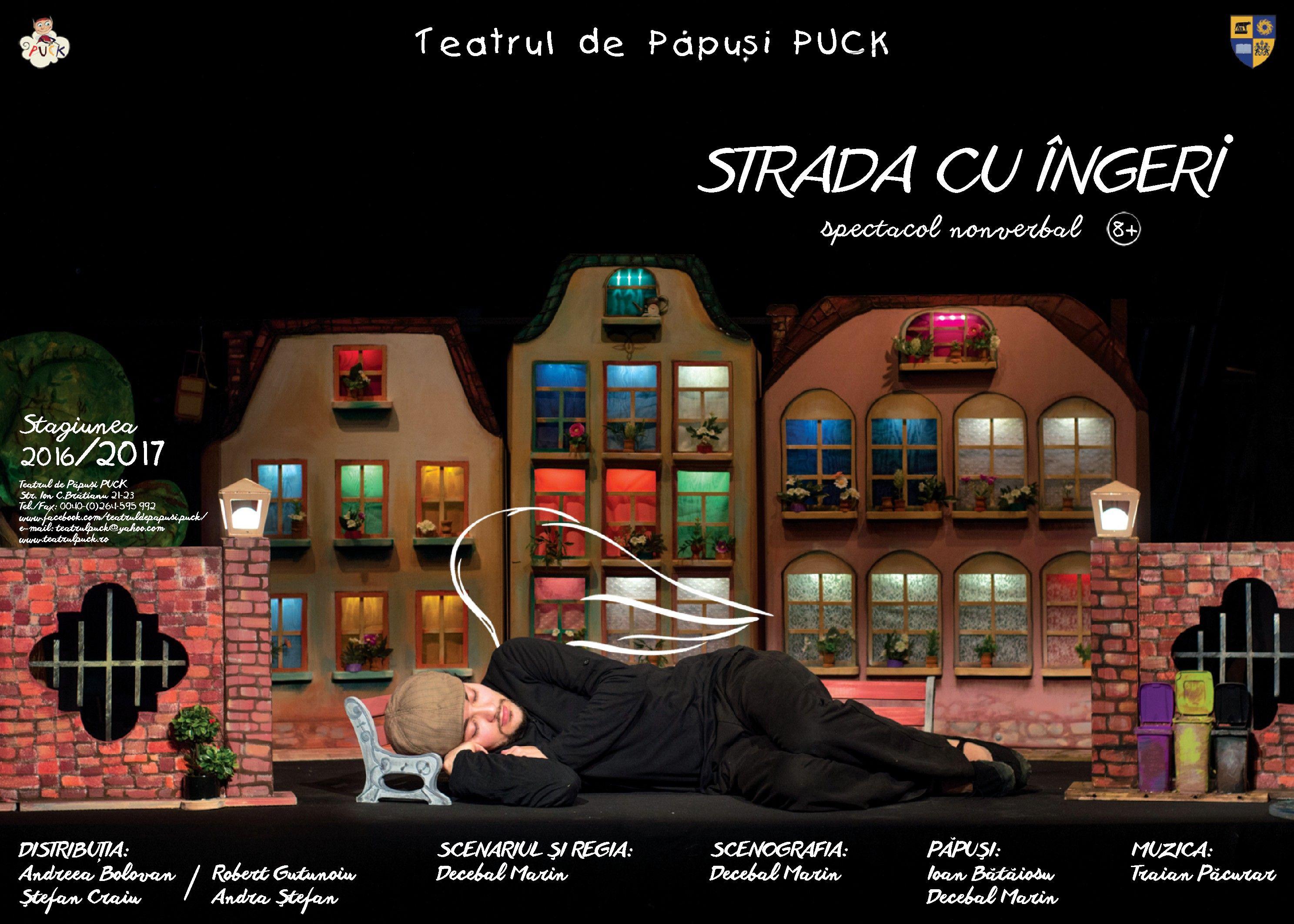 """Teatrul de Păpuși """"Puck"""" din Cluj-Napoca a cucerit publicul Festivalului de la Subotica"""