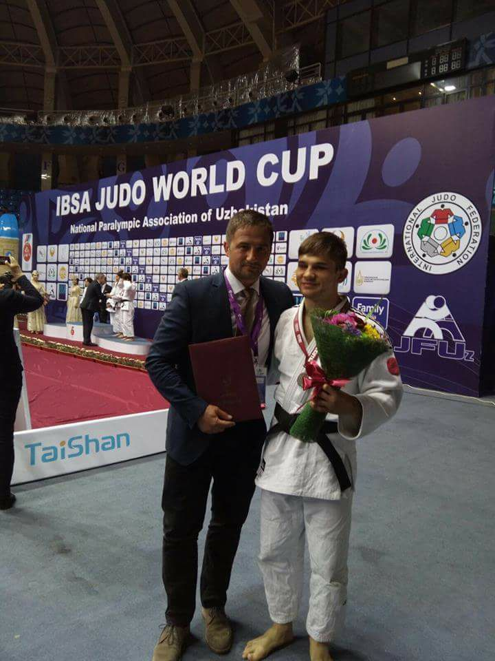 Judoka Alex Bologa a obtinut argintul la Cupa Mondiala de la Taskent!