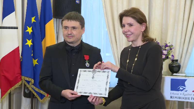 Regizorul Cristian Mungiu, decorat de Franţa!