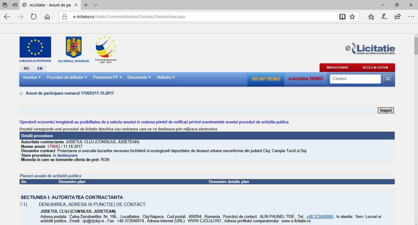 Consiliul Judetean Cluj inchide ultimele două rampe neconforme de deșeuri de la Câmpia Turzii și Dej