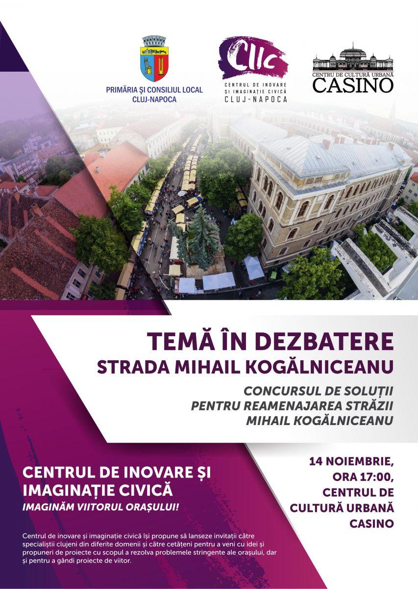 Dezbatere publică pe tema reamenajării străzii Mihai Kogălniceanu, la Casino