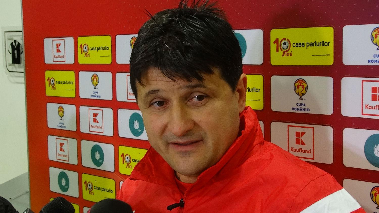 """Adrian Falub, după eşecul cu Dinamo: """"Am controlat jocul, dar ne-a lipsit şansa"""""""