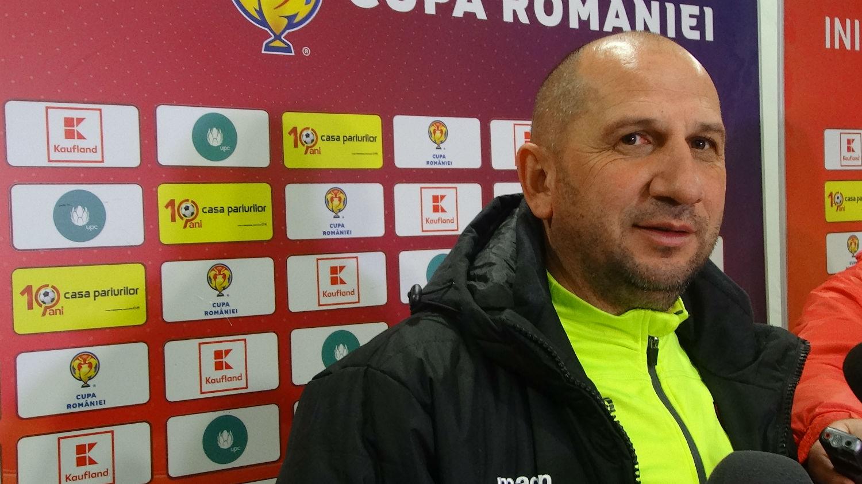 """Vasile Miriuţă, antrenor Dinamo: """"Universitatea Cluj nu e o echipă de liga a 3-a, ci de mijlocul clasamentului sau mai sus în liga a doua"""""""