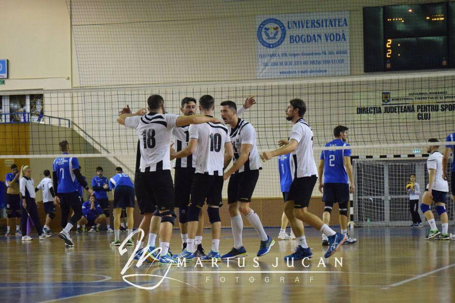 Voleibaliştii clujeni joacă sâmbătă pe teren propriu cu CSM Bucureşti