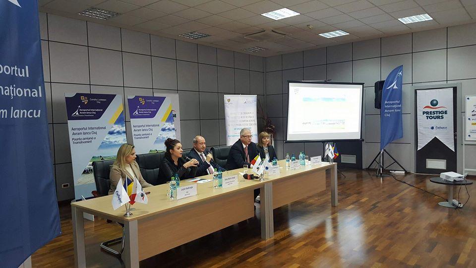 Aeroportul clujean dă startul zborurilor turistice din 2018