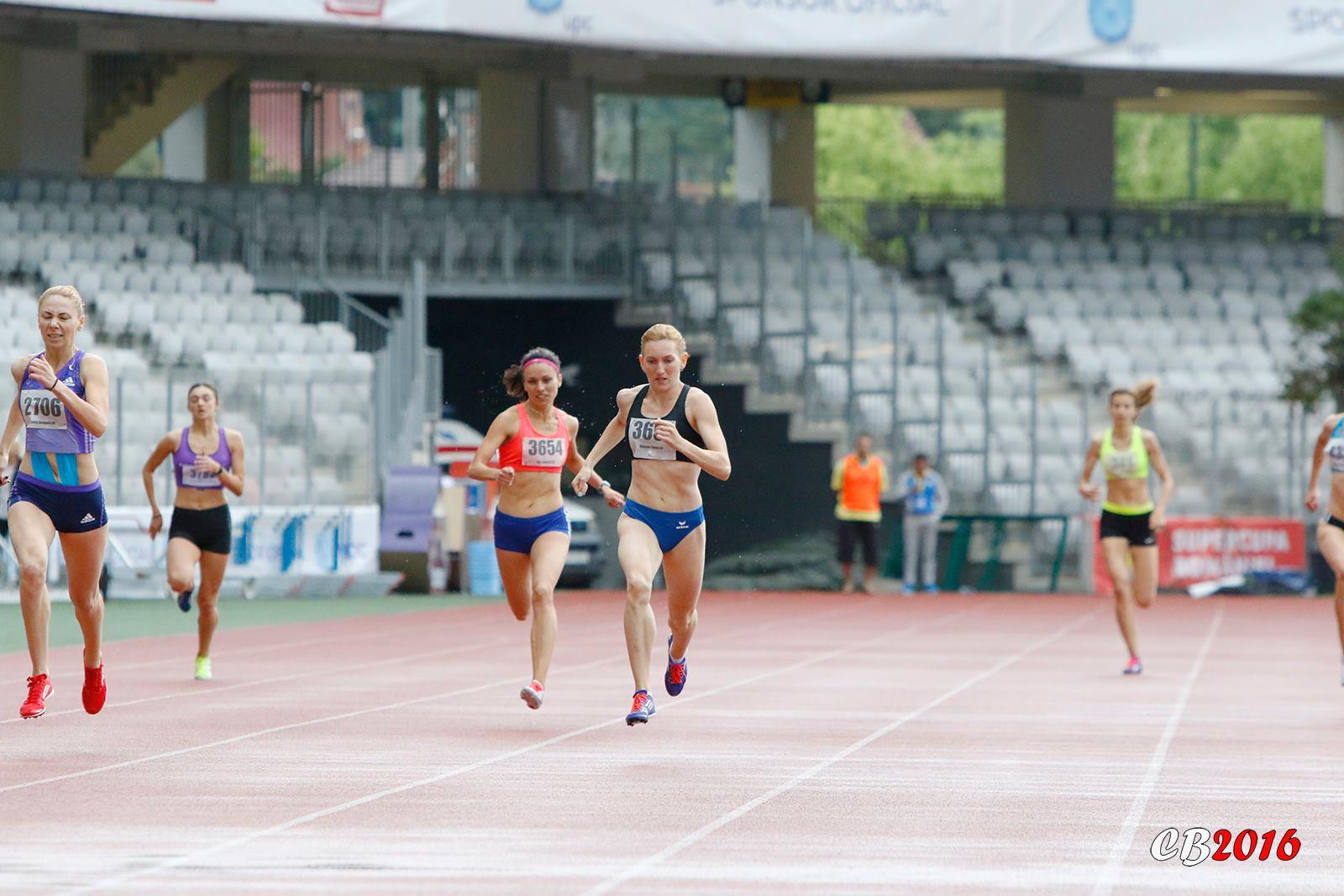 CSU Cluj ocupă locul 4 în clasamentul Federației Române de Atletism