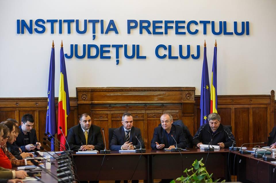 Întâlnire de taină între autorităţile locale şi judeţene pentru viitorul Centurii Metropolitane din Cluj