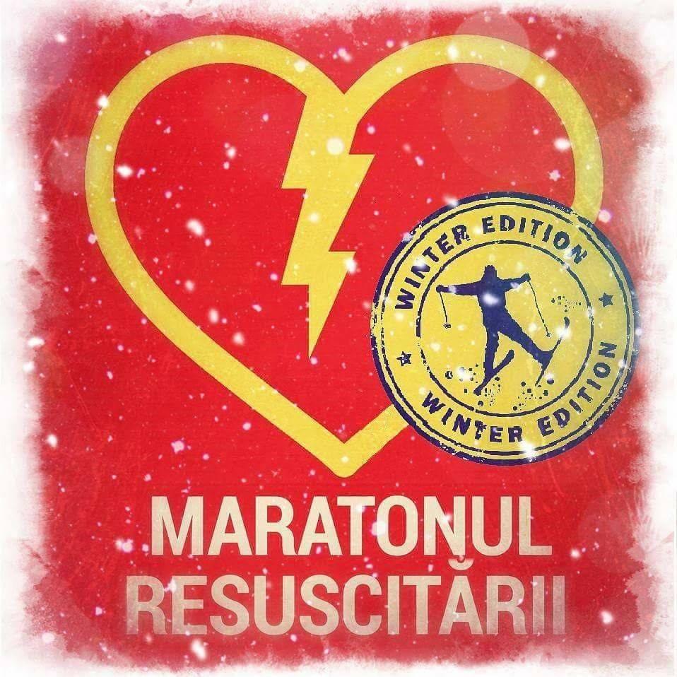 Maratonul Resuscitării, ediţia de iarnă, la VIVO!