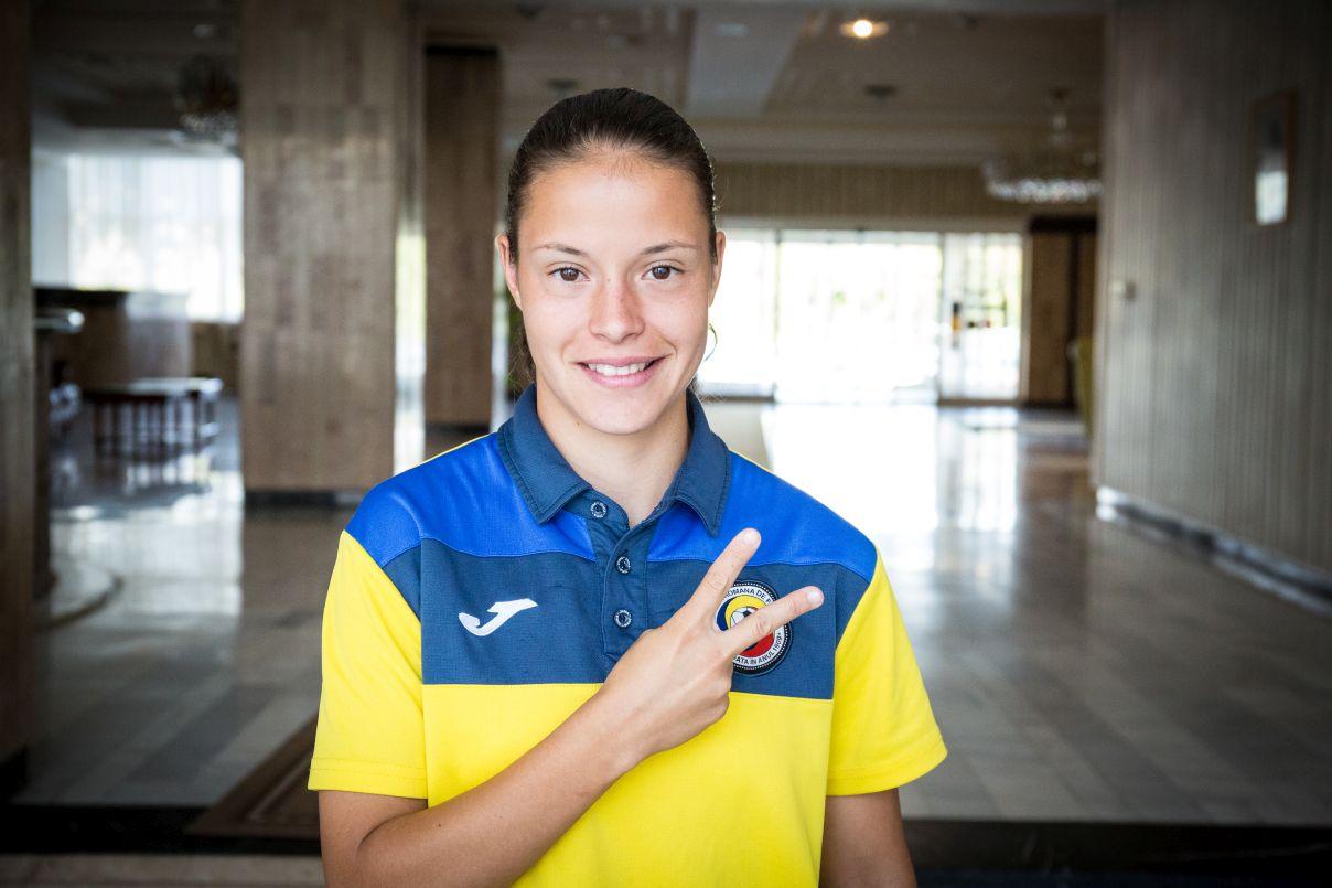 O jucătoare de la Olimpia Cluj, împrumutată în Spania!