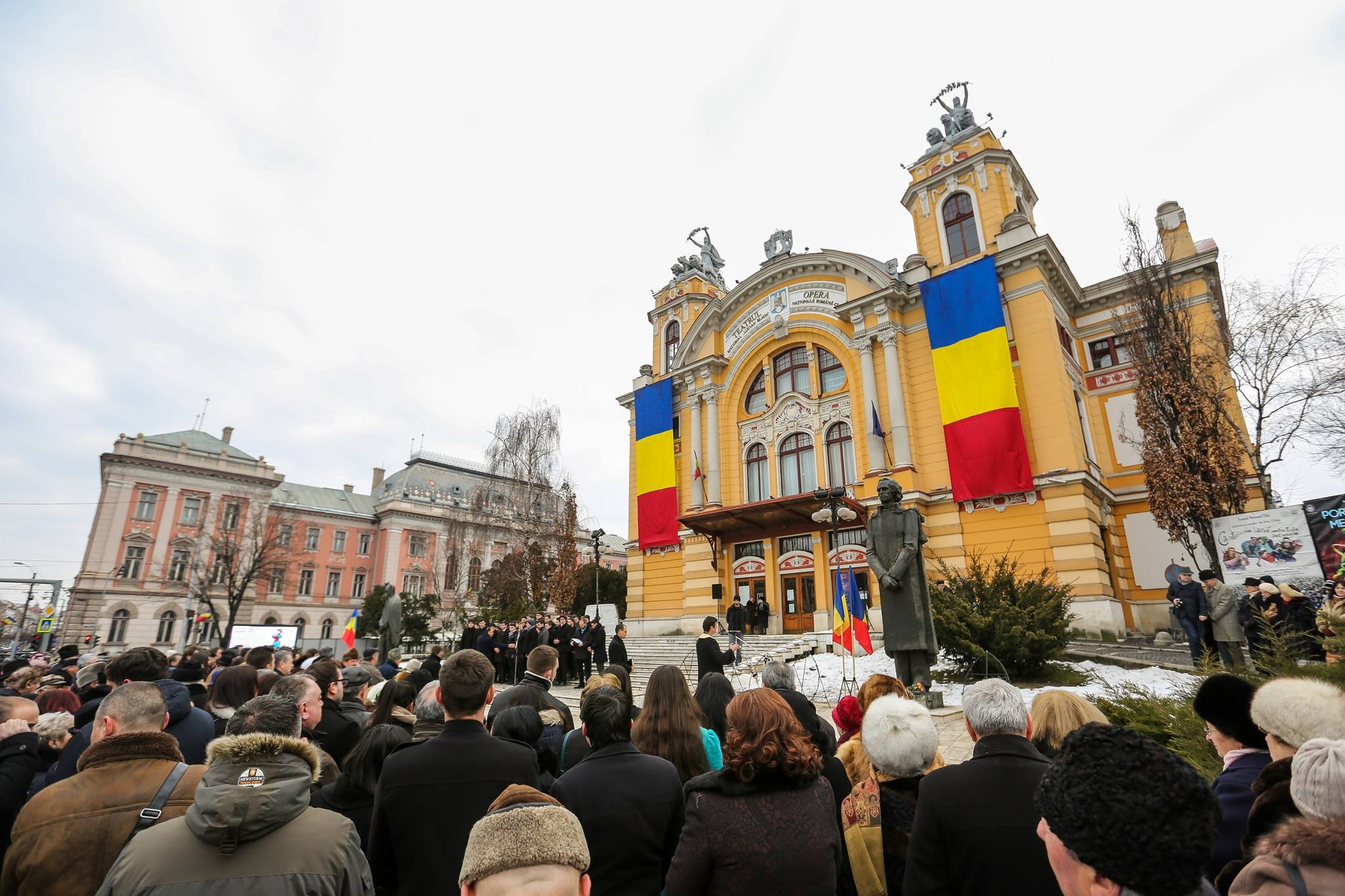 Ziua Națională a Culturii, marcată la Cluj-Napoca printr-un spectacol al Teatrului și Operei Române