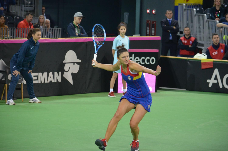 Irina Begu a adus a treia victorie a României la Fed Cup şi calificarea la barajul de promovare în Grupa Mondială I!
