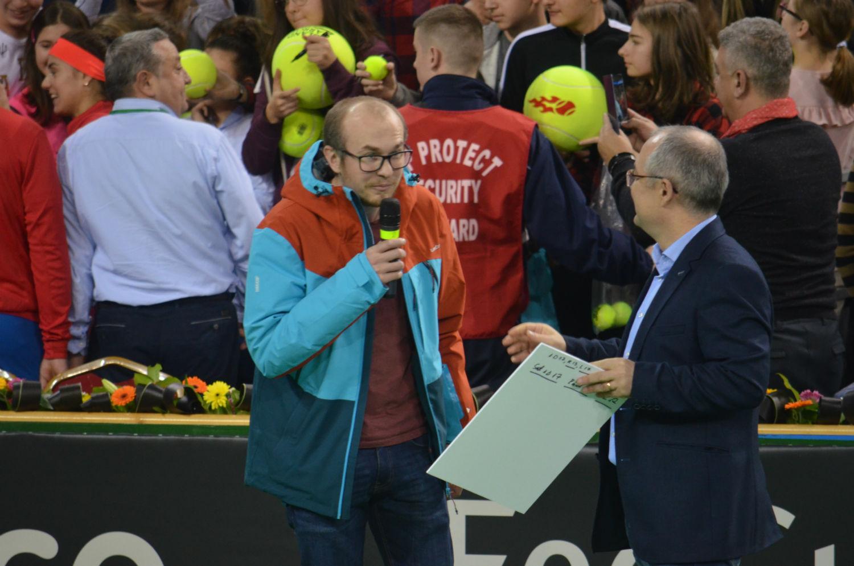 Spectatorul cu numărul 2 milioane, premiat de Sala Polivalentă din Cluj! VIDEO