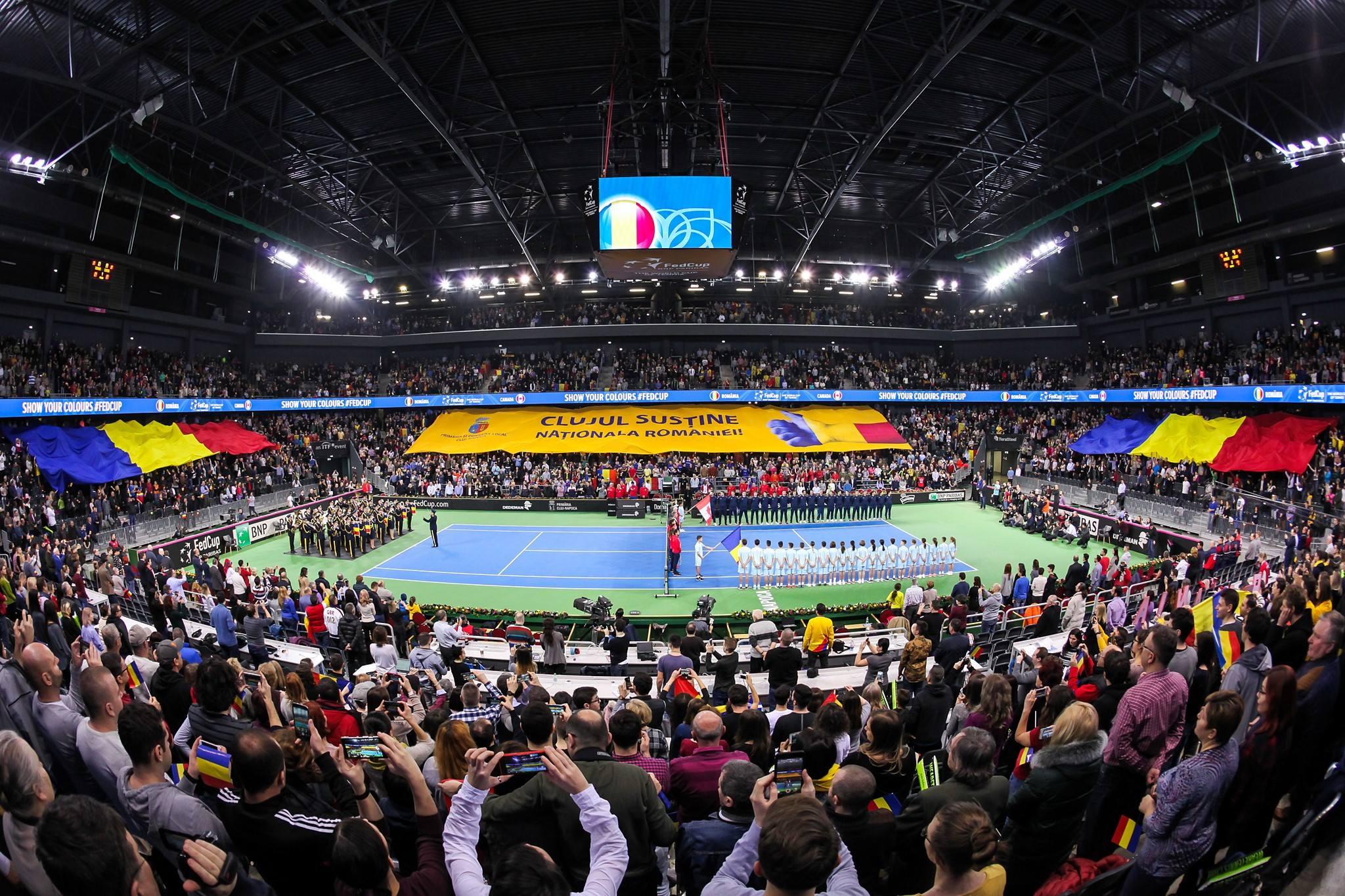 Simona Halep, Sorana Cîrstea, Irina Begu și Mihaela Buzărnescu, în echipa de Fed Cup a României pentru meciul cu Elveția, la Cluj-Napoca