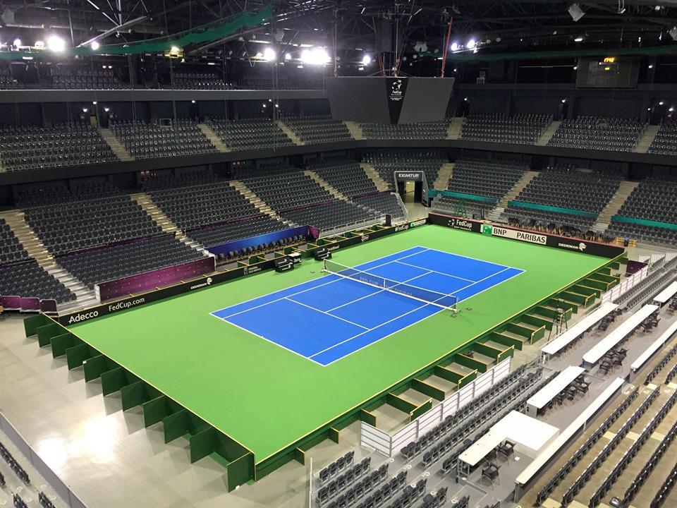 Sala Polivalentă din Cluj, pregătită de Fed Cup! Meciul va fi SOLD-OUT!