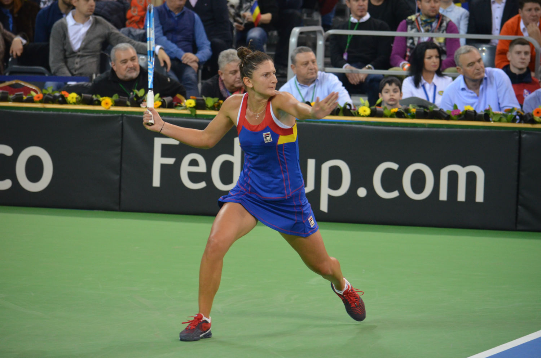 Irina Begu a adus a doua victorie a României în meciul cu Canada! 2-0 după prima zi de Fed Cup la Cluj! FOTO
