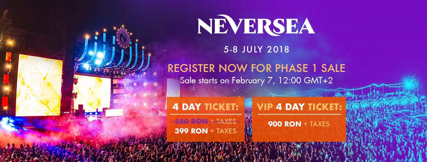 Patru zile şi patru nopţi de distracţie la editia a 2-a NEVERSEA, 5-8 iulie 2018! AFTERMOVIE OFICIAL 2017
