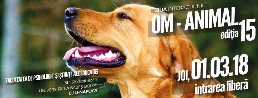 """De """"Mărţişor"""", UBB Cluj îi aşteaptă pe clujeni la Ziua Interacţiunii Om-Animal"""