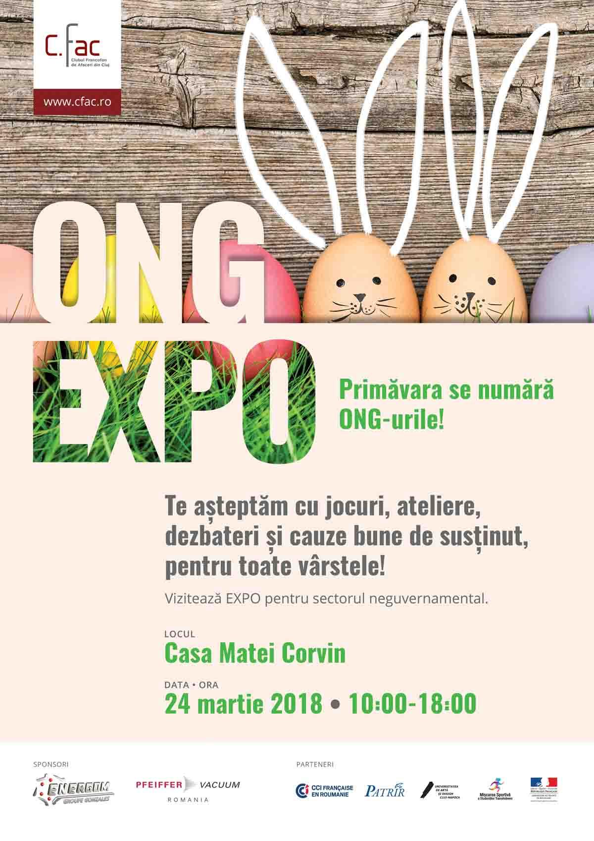 ONG Expo: ziua oamenilor care fac bine Clujului