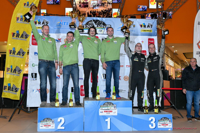 Napoca Rally Academy – victorie la Braşov Tess Rally! Simone Tempestini şi Bogdan Marişca au cucerit aurul, respectiv argintul!