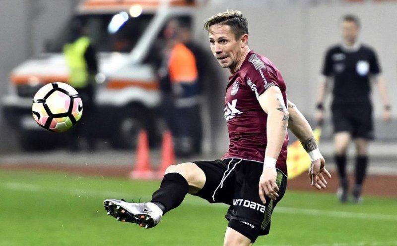 CFR Cluj are trei jucători convocaţi la naţională pentru amicalele cu Israel şi Suedia