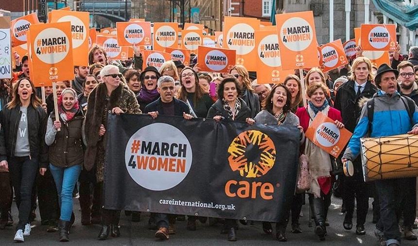 Londra: Mii de femei au ieşit pe străzi pentru a susţine egalitatea de gen şi a sărbători Ziua Internaţională a Femeii – VIDEO
