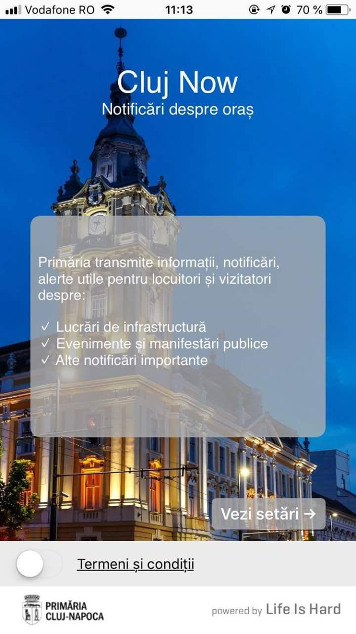 Clujenii au la dispoziție o nouă aplicație de informare – Cluj Now