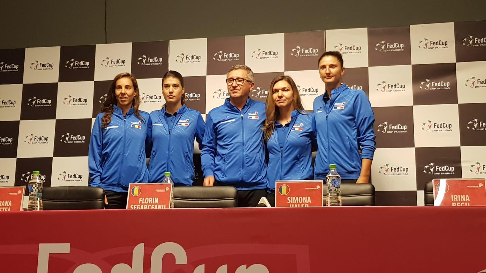 Simona Halep va deschide confruntarea cu Elveția în meciul de Fed Cup de la Cluj-Napoca