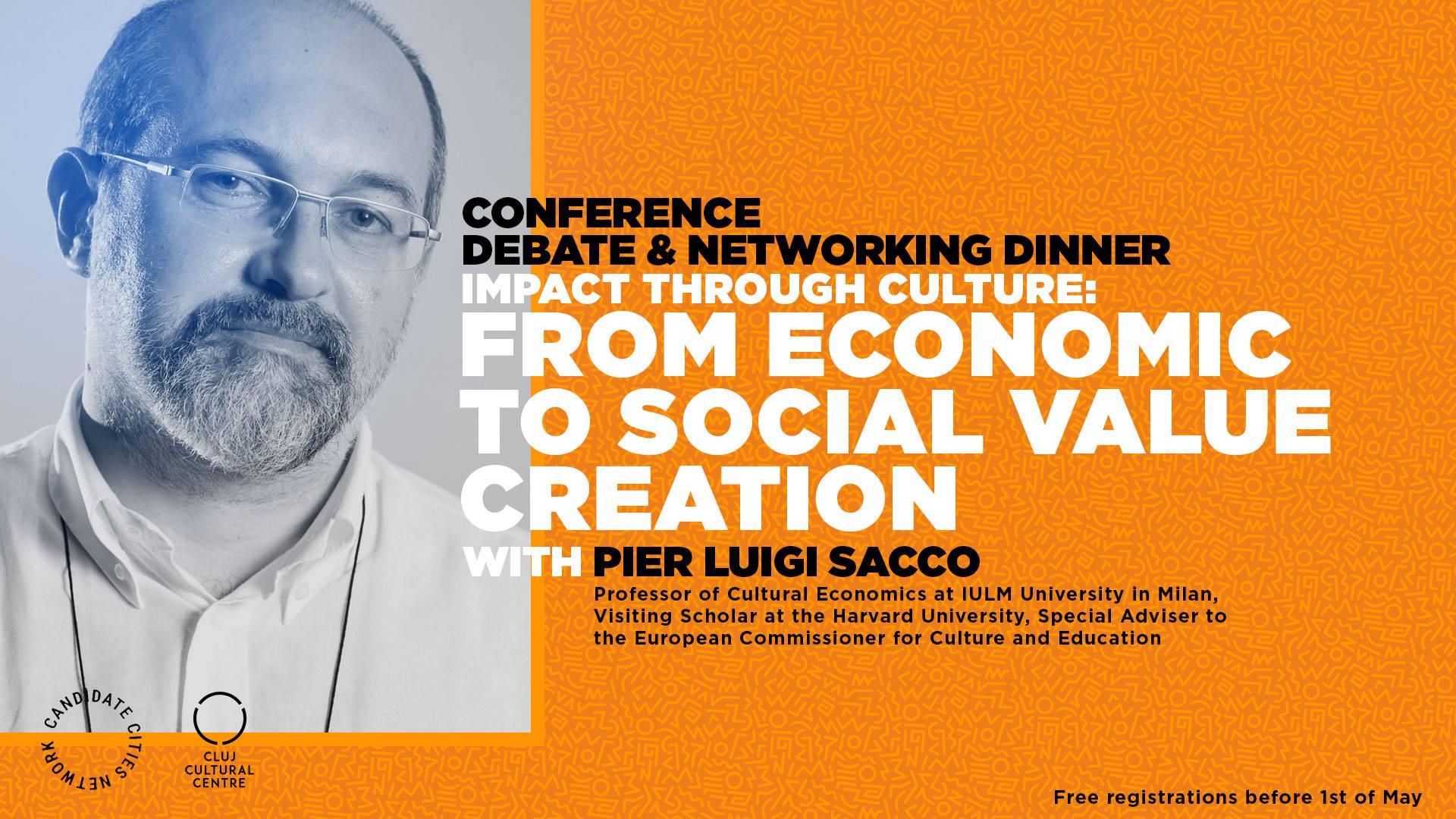 Academic de la Milano și Harvard, în conferință de economia culturii la Cluj