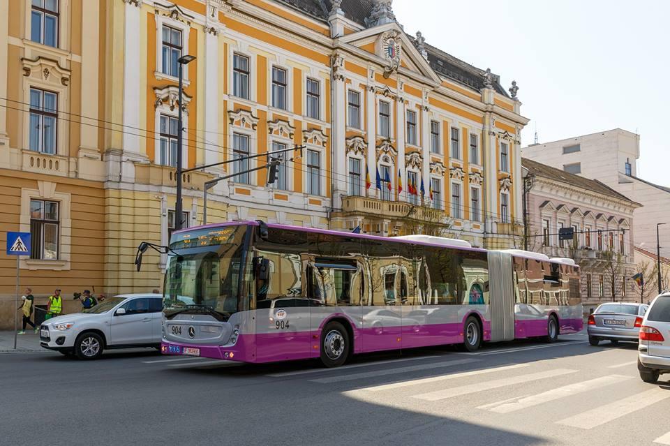 Transportul Public din Cluj-Napoca a fost recomensat cu un Premiu de Excelenţă pentru mobilitate!