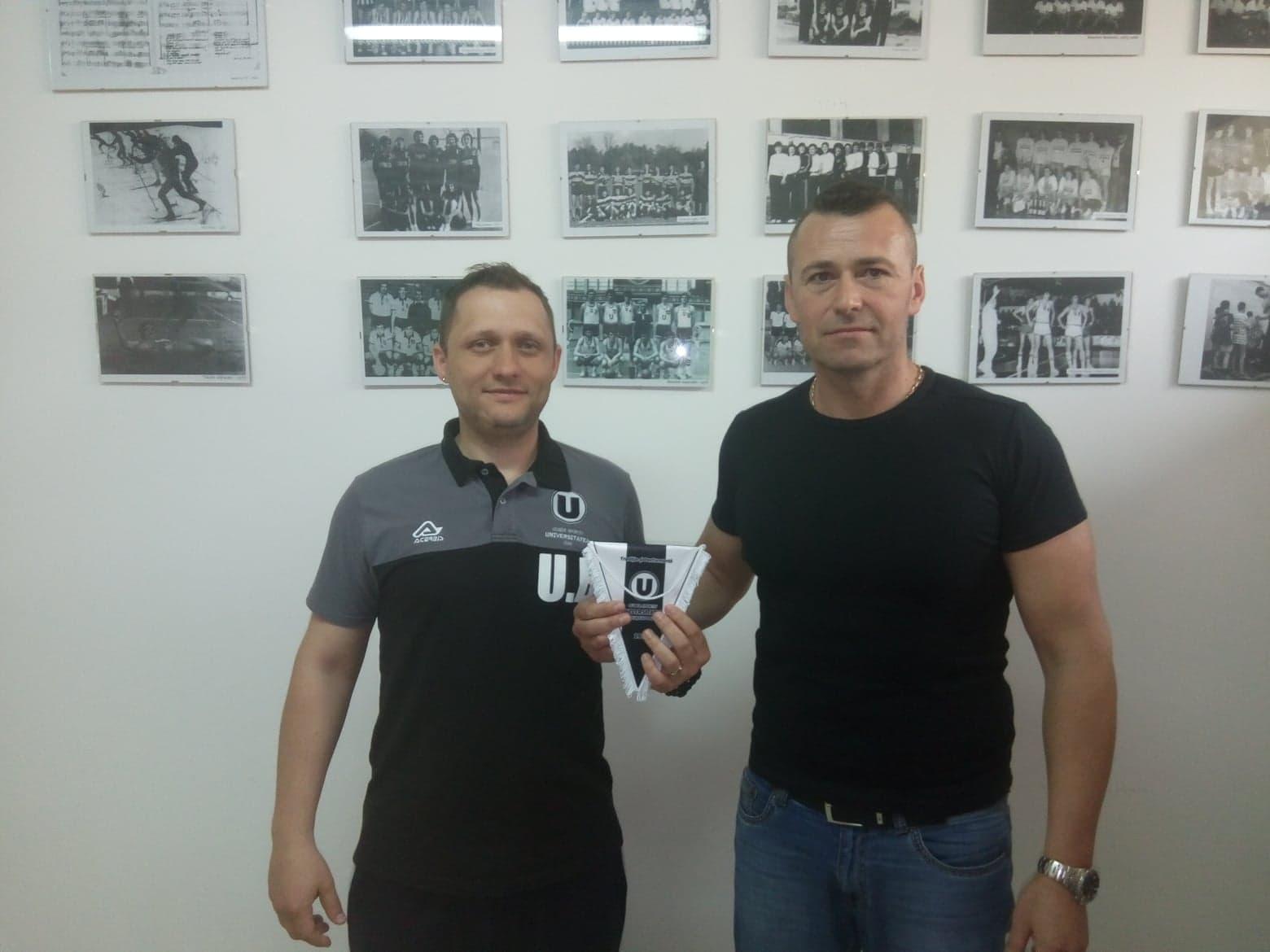 """Parteneriat între """"U"""" Cluj şi Baia Mare pentru viitorul voleiului masculin"""