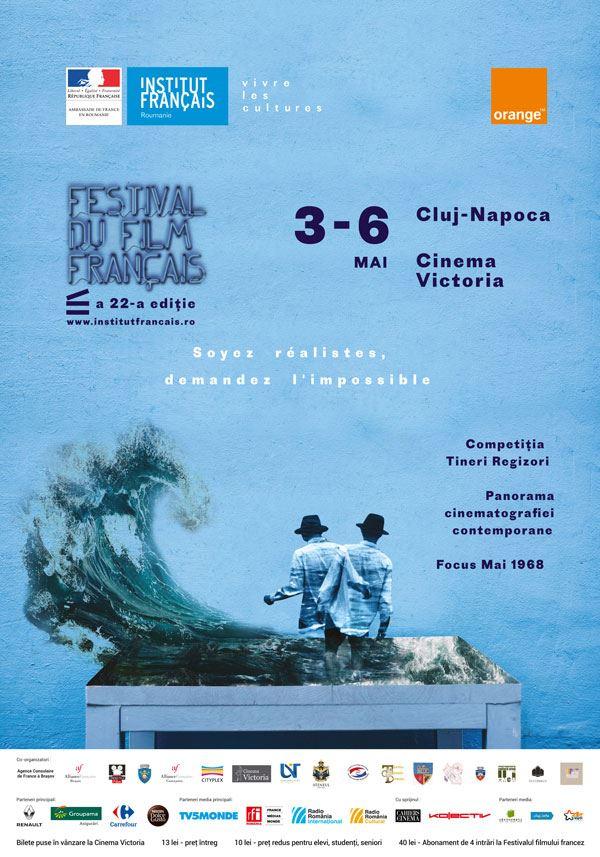 Crema cinematografiei franceze din ultimul an adusă la Festivalul de Film Francez din Cluj