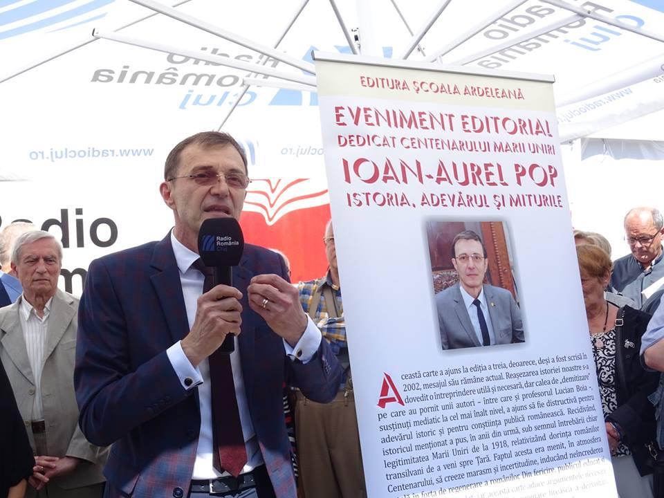 """Ioan Aurel Pop: """"Nicio ţară şi niciun popor nu merită şi nu trebuie să trezească ură"""""""