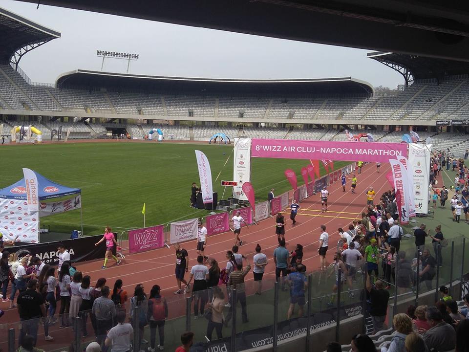 8000 de alergători din 30 de țări s-au înscris în acest an la Maratonul Internațional Cluj