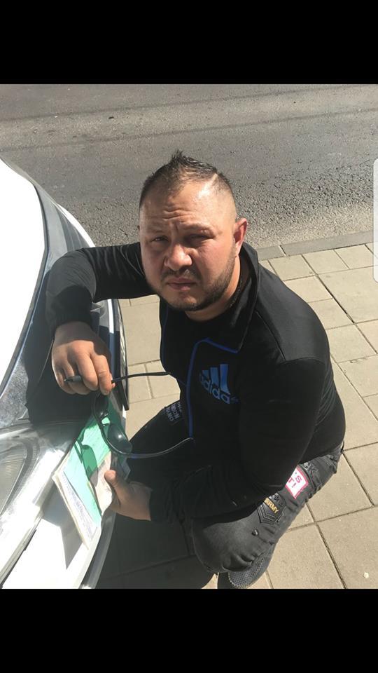 Bărbatul care a accidentat mortal o pensionară pe trecerea de pietoni de pe str. Corneliu Coposu şi a fugit de la locul accidentului s-a predat poliţiei după ce şi-a dat foc la maşină!