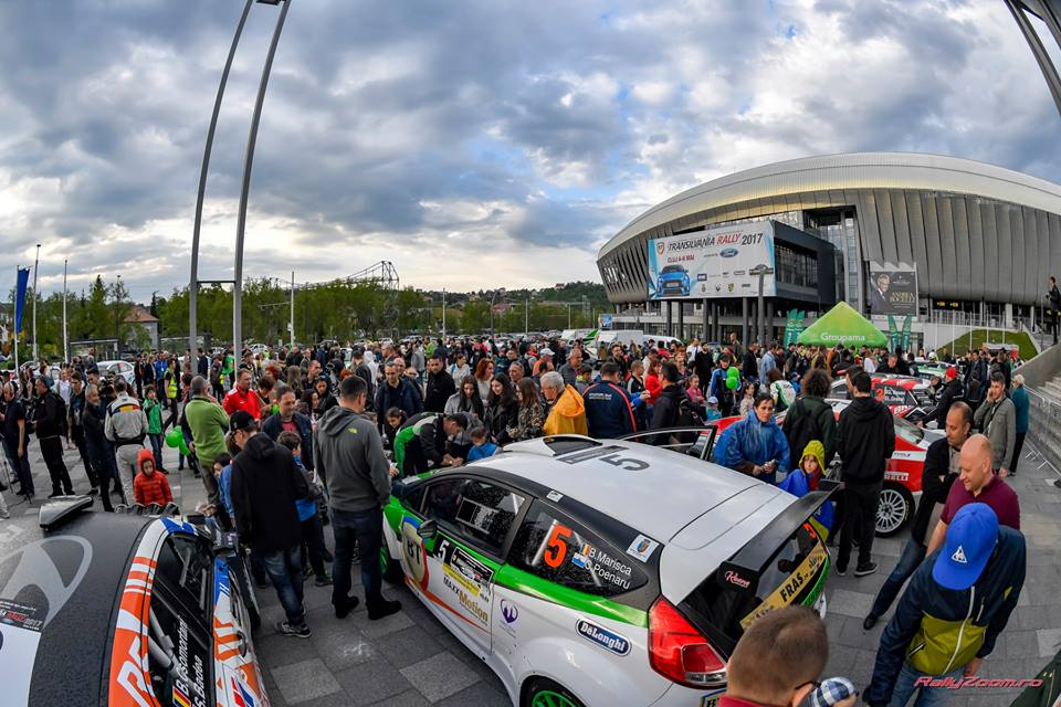 Clujul deschide Campionatul European de Raliuri – 160 de kilometri în 14 probe speciale