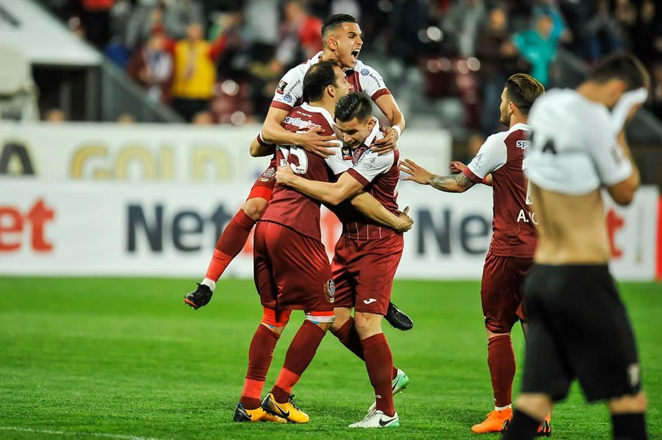 CFR Cluj a câştigat duminică seara meciul cu Astra Giurgiu şi a devenit favorită certă la titlu în Liga 1!