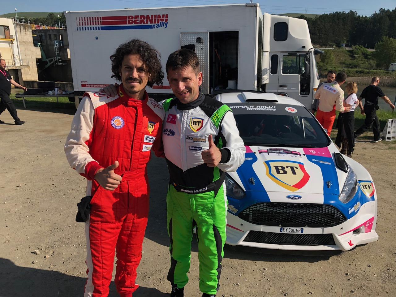 George Florescu i-a fost copilot lui Bogdan Marişca în cadrul Transilvania Rally