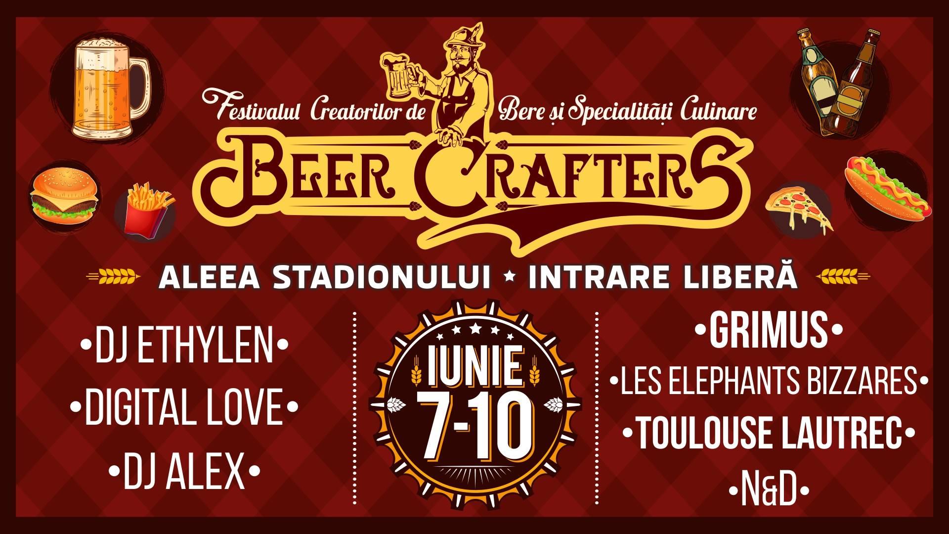 Beer Crafters Festival, primul festival din Transilvania dedicat creatorilor de bere, în iunie, la Cluj-Napoca