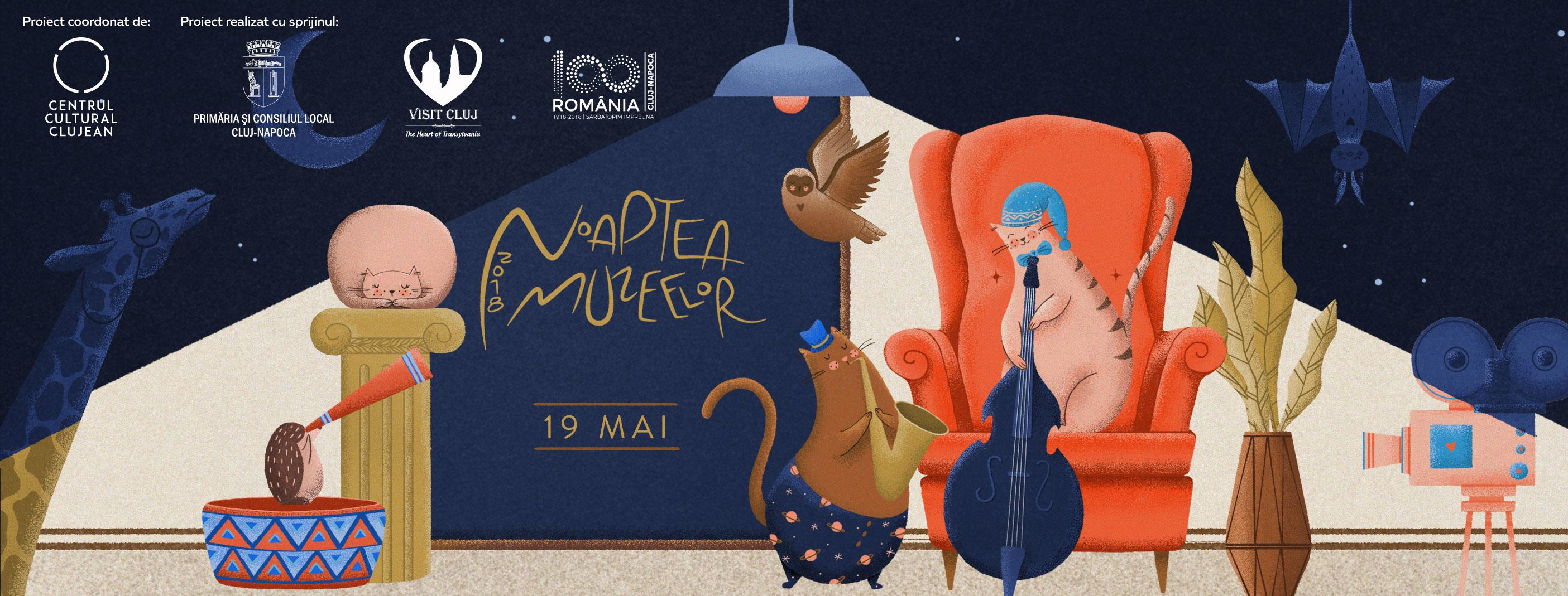 Noaptea Muzeelor la Cluj: 30 de expoziții și evenimente speciale în 2018