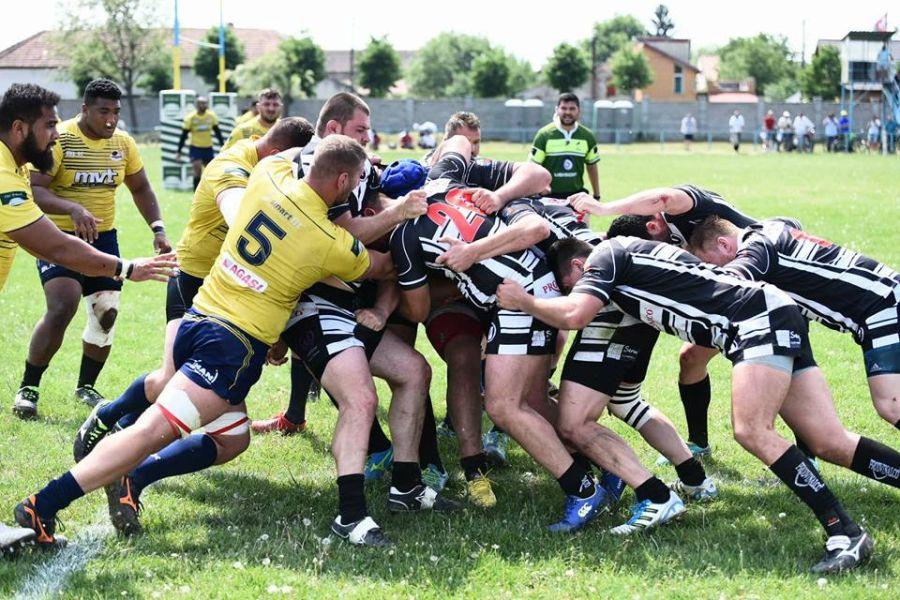 Rugbyiştii clujeni au cedat de 1 mai în faţa Timişoarei
