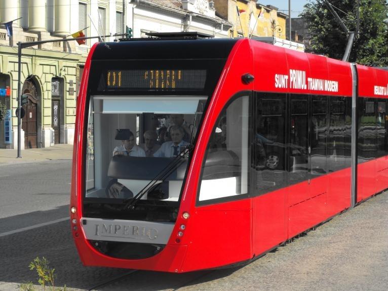 O companie românească din Arad, singurul ofertant al licităţii de tramvaie noi pentru Cluj-Napoca!
