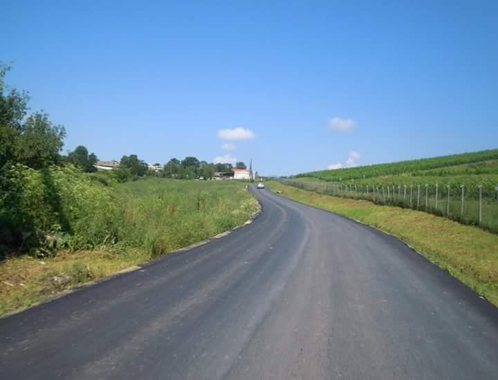 Drumul județean 161B Turda – Ploscoş a fost asfaltat