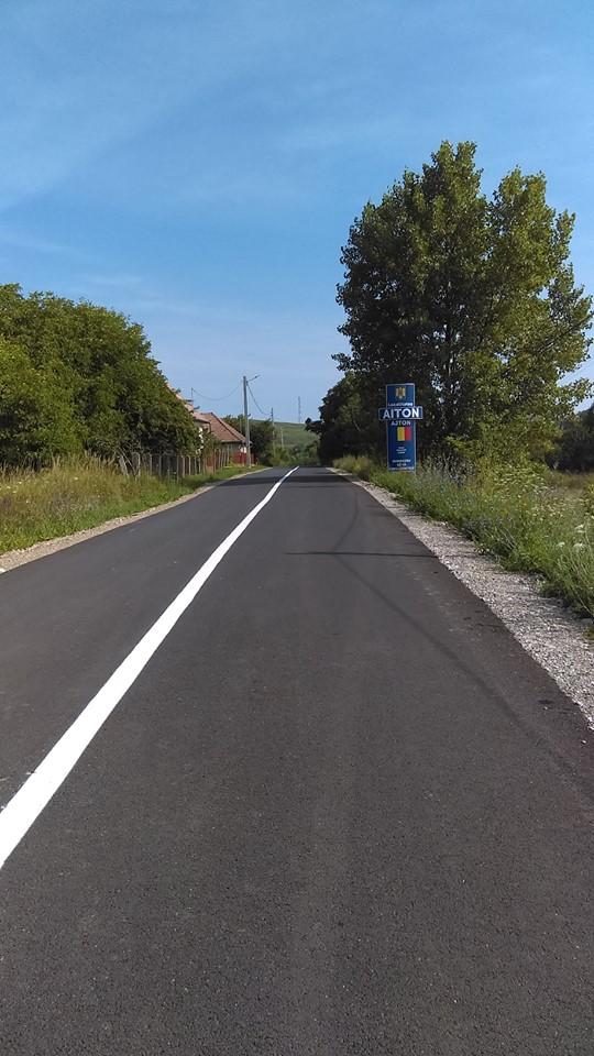 Lucrările de marcaje rutiere pe drumul județean 103G Tureni (DN 1) – Ceanu Mic – Aiton – Gheorgheni (Centura ocolitoare) au fost finalizate