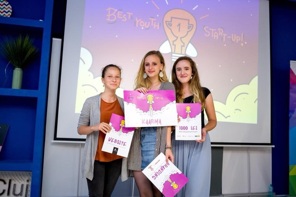 Trei eleve de liceu din Cluj-Napoca au câştigat un concurs de start-up-uri cu o idee prin care vor să încurajeze reciclarea!