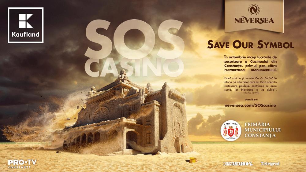 """""""SOS Cazino"""" – Organizatorii din Cluj ai festivalului NEVERSEA vor să salveze unul dintre simbolurile Constanţei!"""