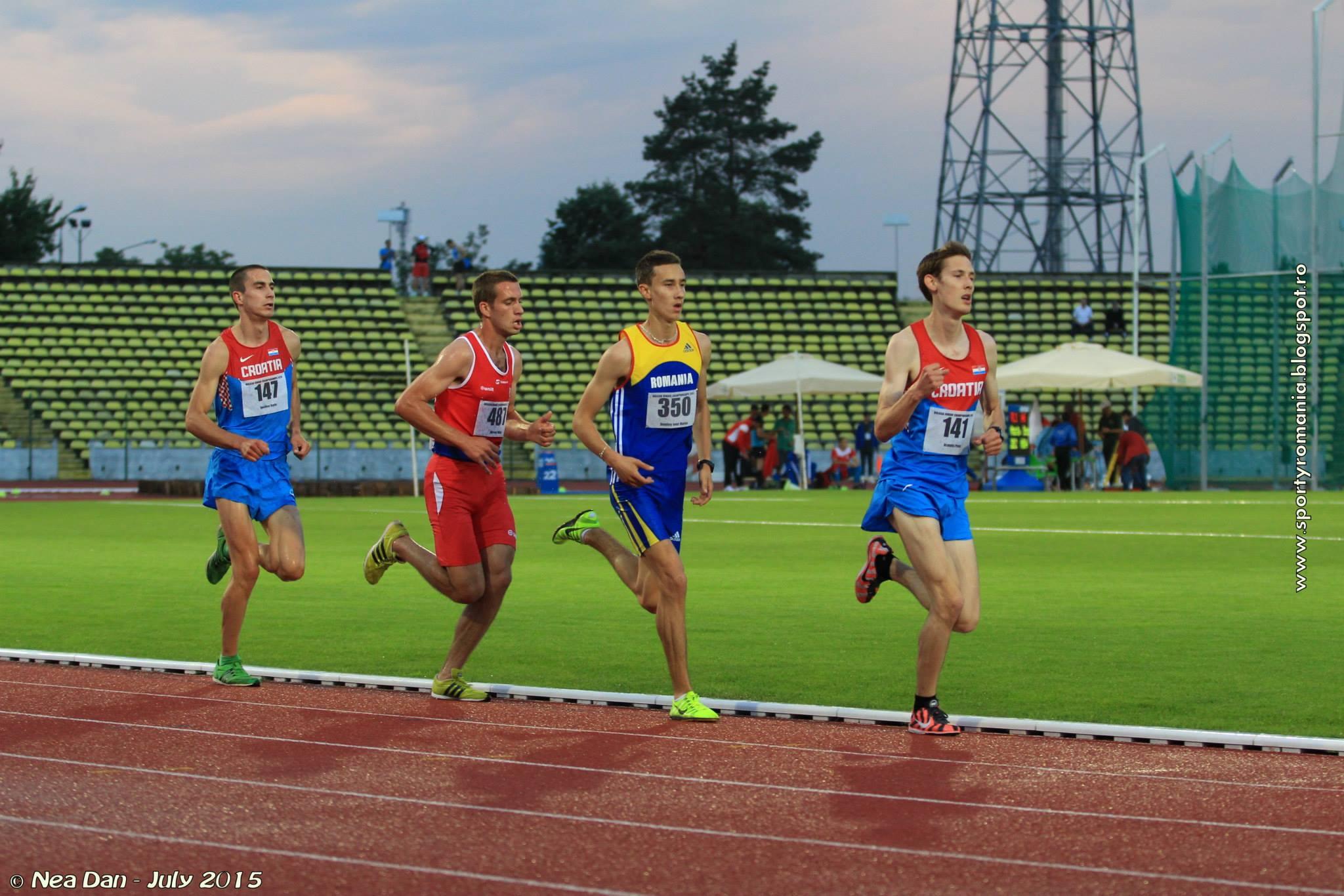Un atlet clujean aleargă la Campionatul European